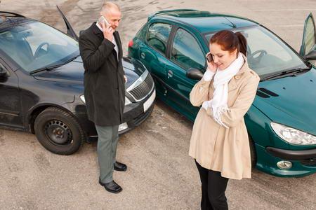Wypadek samochodowy w UK